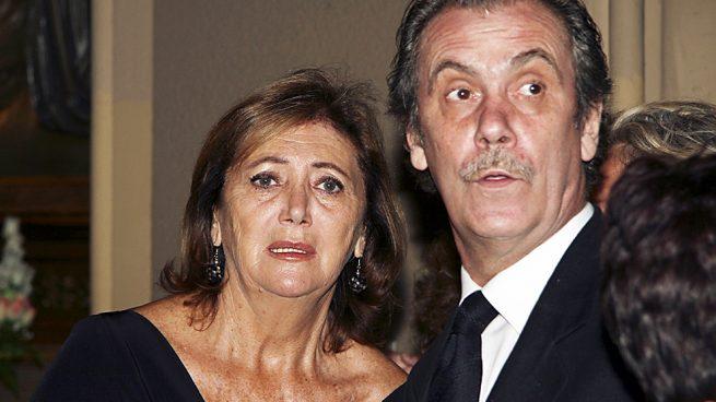 Syliane de Vilallonga junto a su marido, Jorge Bascones /Gtres