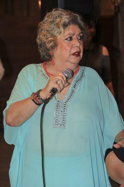 La cantante María Jiménez en Sevilla