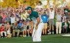 El público ovaciona al golfista español