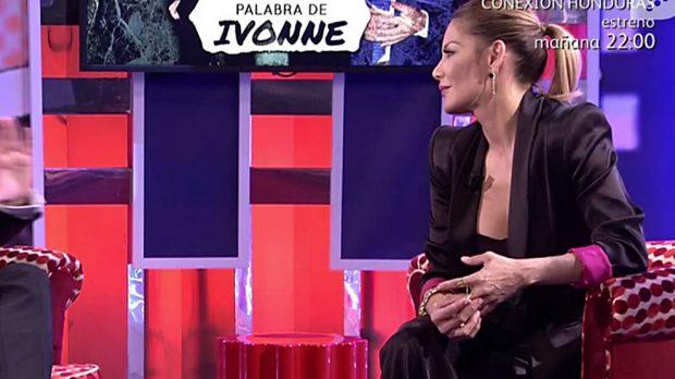 Ivonne Reyes durante la entrevista en el 'Deluxe' /Telecinco