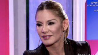Ivonne Reyes durante su entrevista en el 'Deluxe' /Telecinco