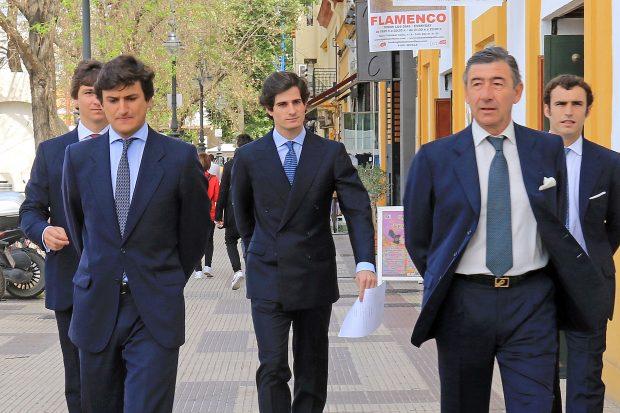 Fernando y Carlos Fitz James Stuart y Solís