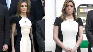 La reina Letizia y susana Díaz, dos mujeres y un vestido