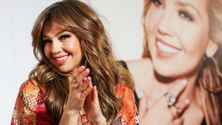 La cantante Thalía en una imagen de archivo / GTRES
