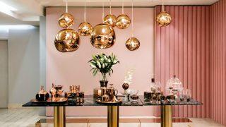La aleación de oro a base de cobre está inundado el mundo de la decoración, la moda y la belleza. / Tom Dixon