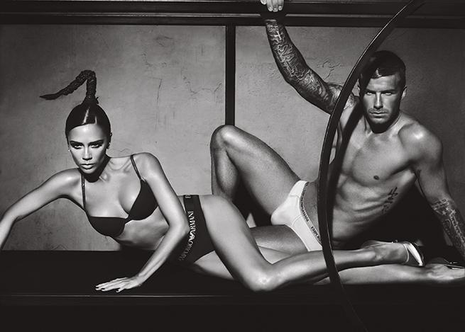 David Beckham Armani