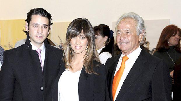 Sebastián Palomo Linares, Miguel Palomo Danko y Marta González