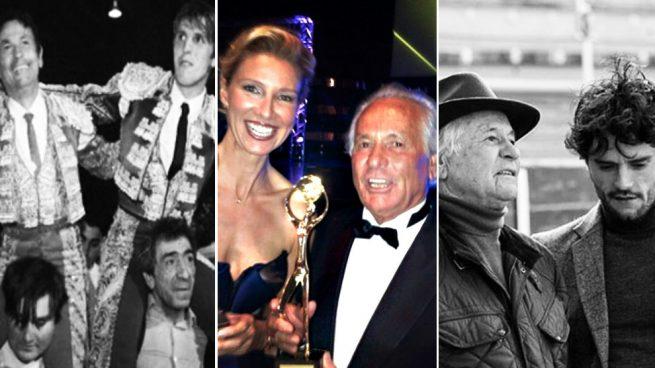 Los famosos comparten mensajes por Palomo Linares