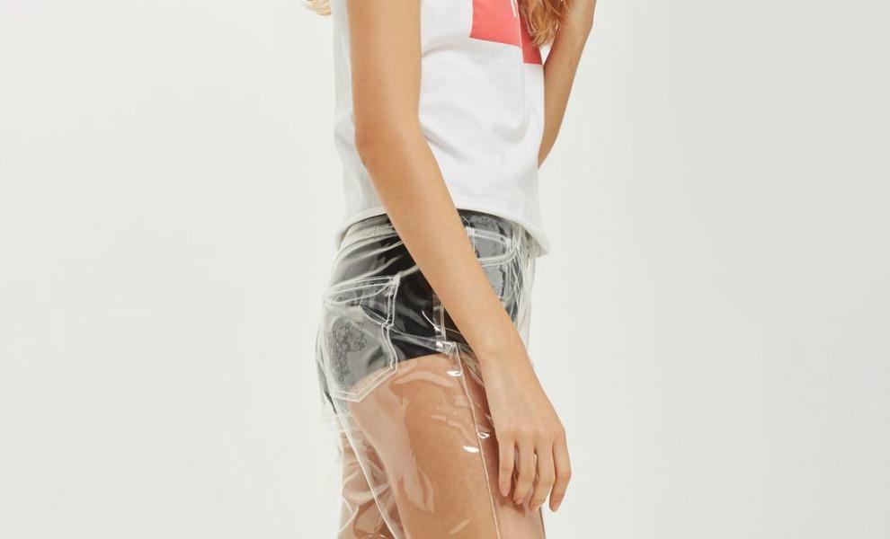 Pantalón Transparente Topshop