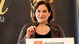 Ada Colau durante las nominaciones a los Premios Gaudi 2017 en Barcelona / Gtres