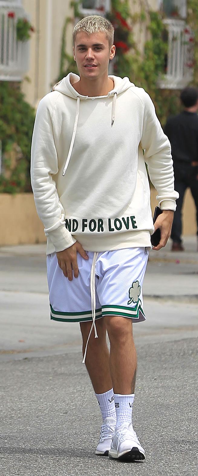 Justin Bieber Gucci