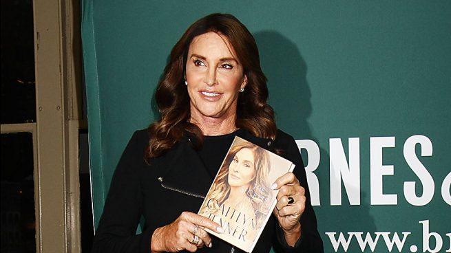 Caitlyn Jenner en la presentación de su biografía /Gtres