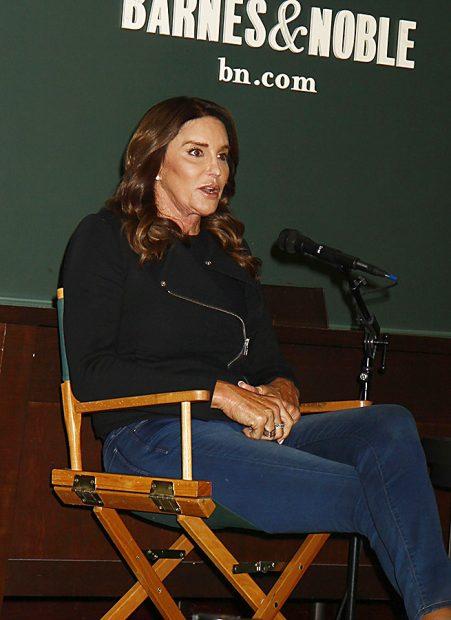 Caitlyn Jenner durante la presentación de su biografía /Gtres