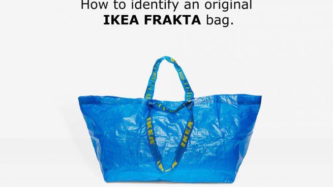 IKEA responde con humor a la 'copia' de Balenciaga