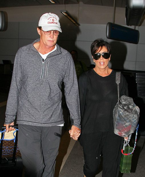 Bruce Jenner y su mujer Kris Jenner cuando eran pareja /Gtres