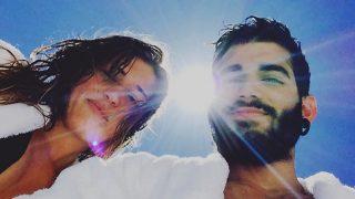 Pablo Ráez y Andrea Rodríguez en una imagen de archivo /Instagram