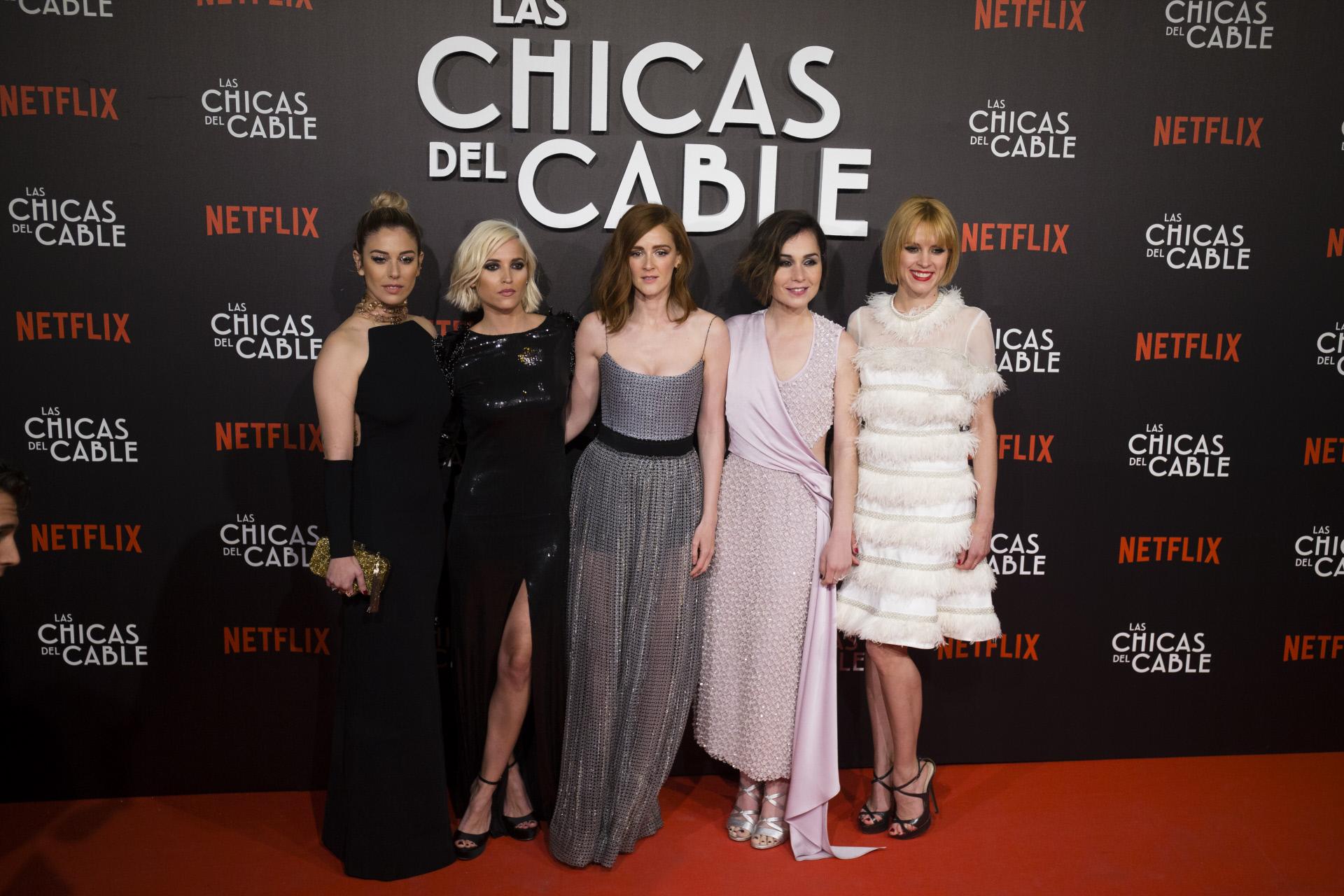 Las Chicas del Cable Estreno Looks