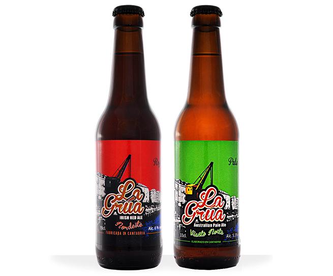 Cerveza La Grúa