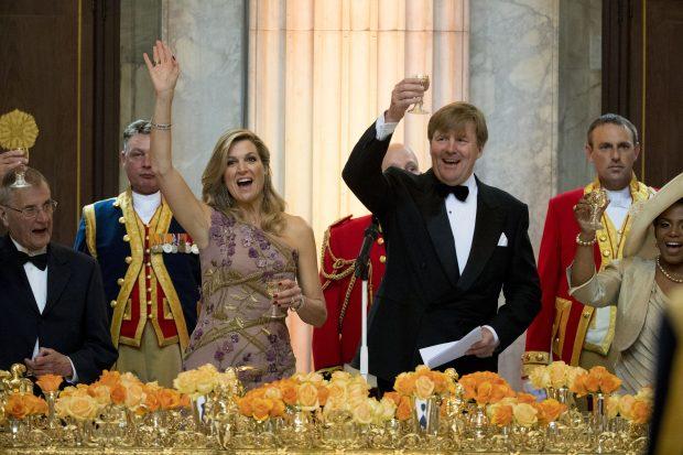Cena de gala por el 50 cumpleaños de Guillermo de Holanda (Gtres)