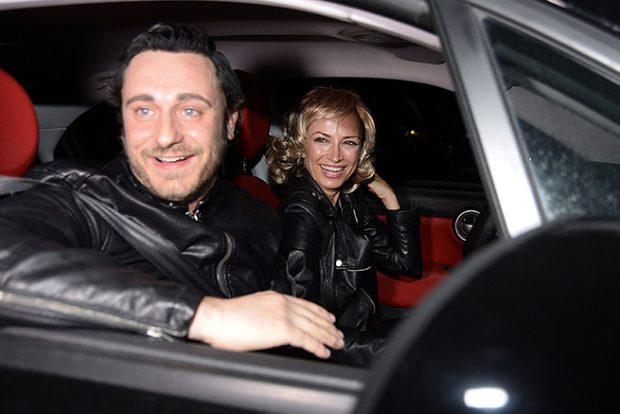 Juan Peña y Sonia González llegando a la fiesta de Fonsi Nieto y Marta Castro (Gtres)