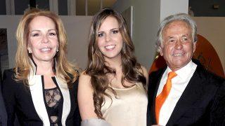 El torero Sebastián Palomo Linares con Lilia y su hija, Marta Domínguez /Gtres