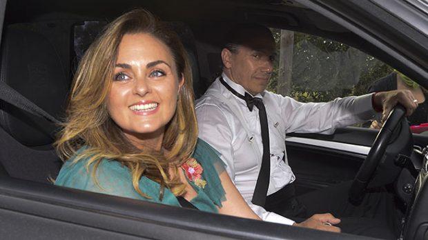 Carmen Morales y Luis Guera en la boda de Fonsi Nieto (Gtres)