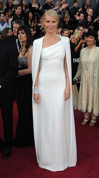 La actriz Gwyneth Paltrow en la gala de los Oscar del año 2012 /Gtres
