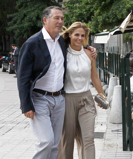 Genoveva Casanova y José María MIchavila