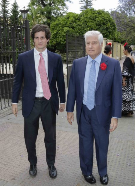 Carlos Fitz James Stuart y Fernando Fitz James Stuart y Solís en Sevilla /Gtres