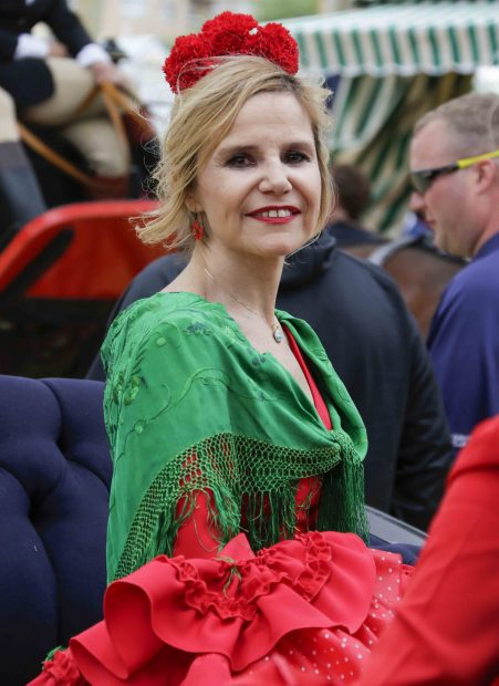 Eugenia Martínez de Irujo posa sonriente para la prensa /Gtres