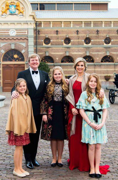 Las fotografías oficiales facilitadas por la Casa Real Holandesa /Gtres