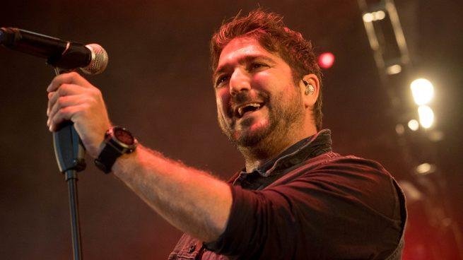 El cantante Antonio Orozco