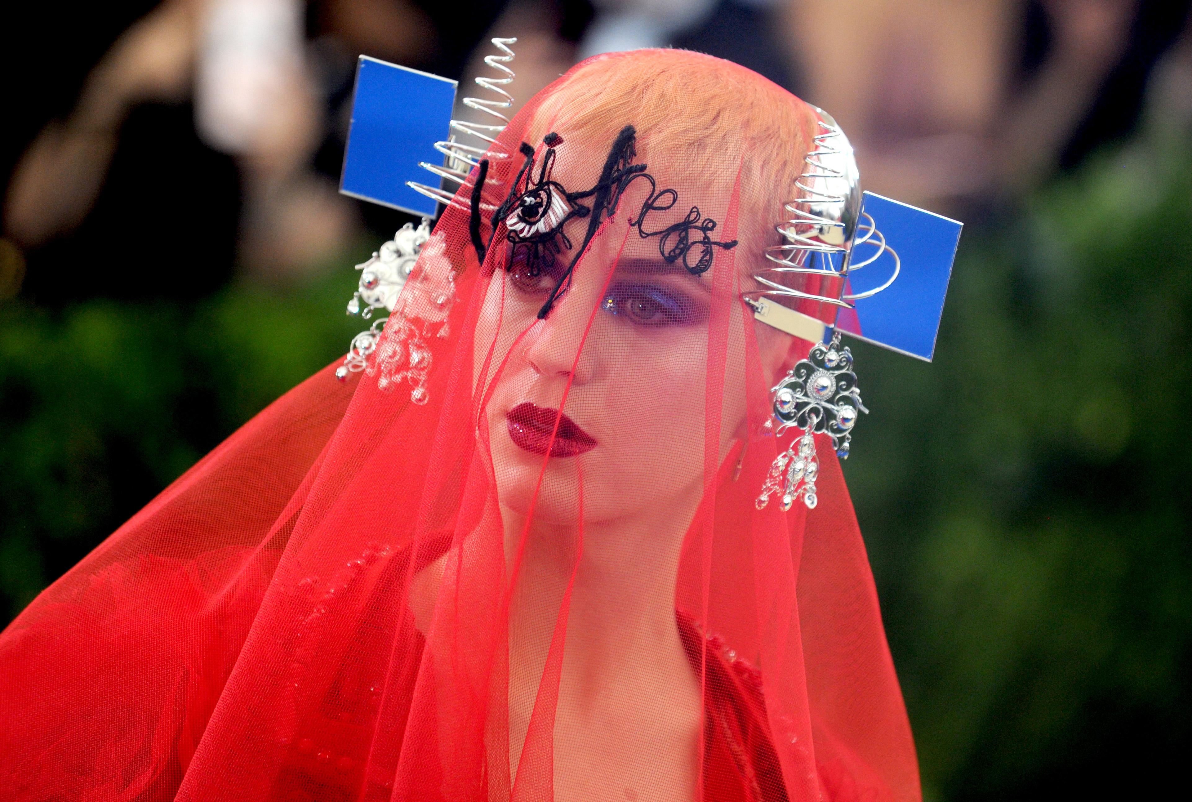 Katy Perry Belleza Gala Met 2017