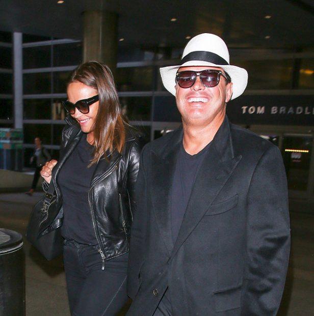Luis Miguel y Kristina