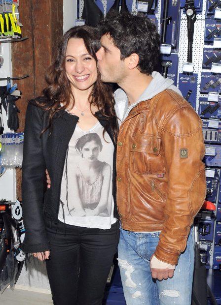 Miguel Abellán y Natalia Verbeke