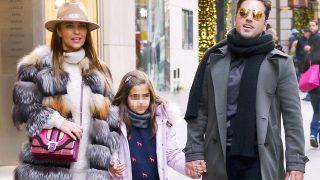 David Bustamante y Paula Echevarría con su hija Daniella en una imagen de archivo / Gtres