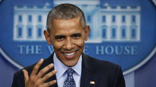 Barack Obama durante su última rueda de prensa como Presidente de Estados Unidos / Gtres