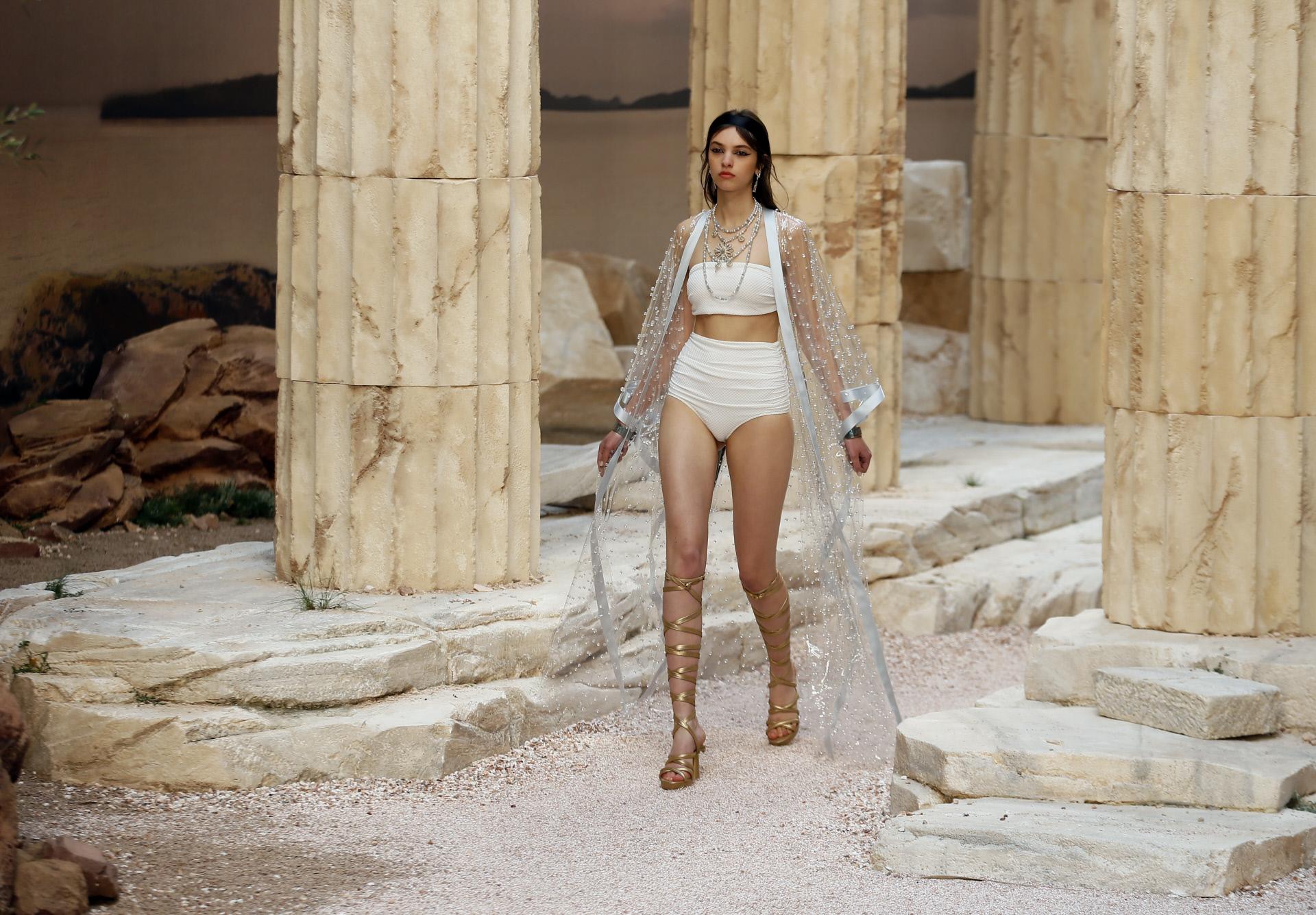 Chanel Colección Crucero 2018 París