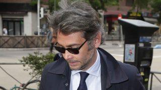 Sebastián Palomo Danko a su llegada a la misa funeral de su padre /Gtres