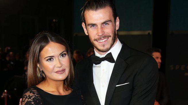 Gareth Bale y Emma Rhys-Jones en una imagen de archivo /Gtres