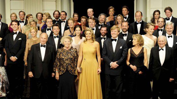 Multitud de royals en el 40 cumpleaños de Máxima de Holanda /Gtres