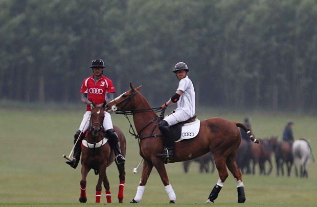 Un torneo de polo, el lugar elegido para la primera aparición pública del príncipe Harry y Meghan Markle