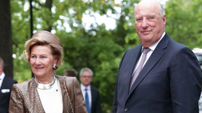 Rey Harald y la reina Sonia en una imagen de archivo /Gtres
