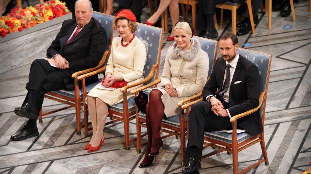 Los reyes y los príncipes de Noruega en una imagen de archivo /Gtres