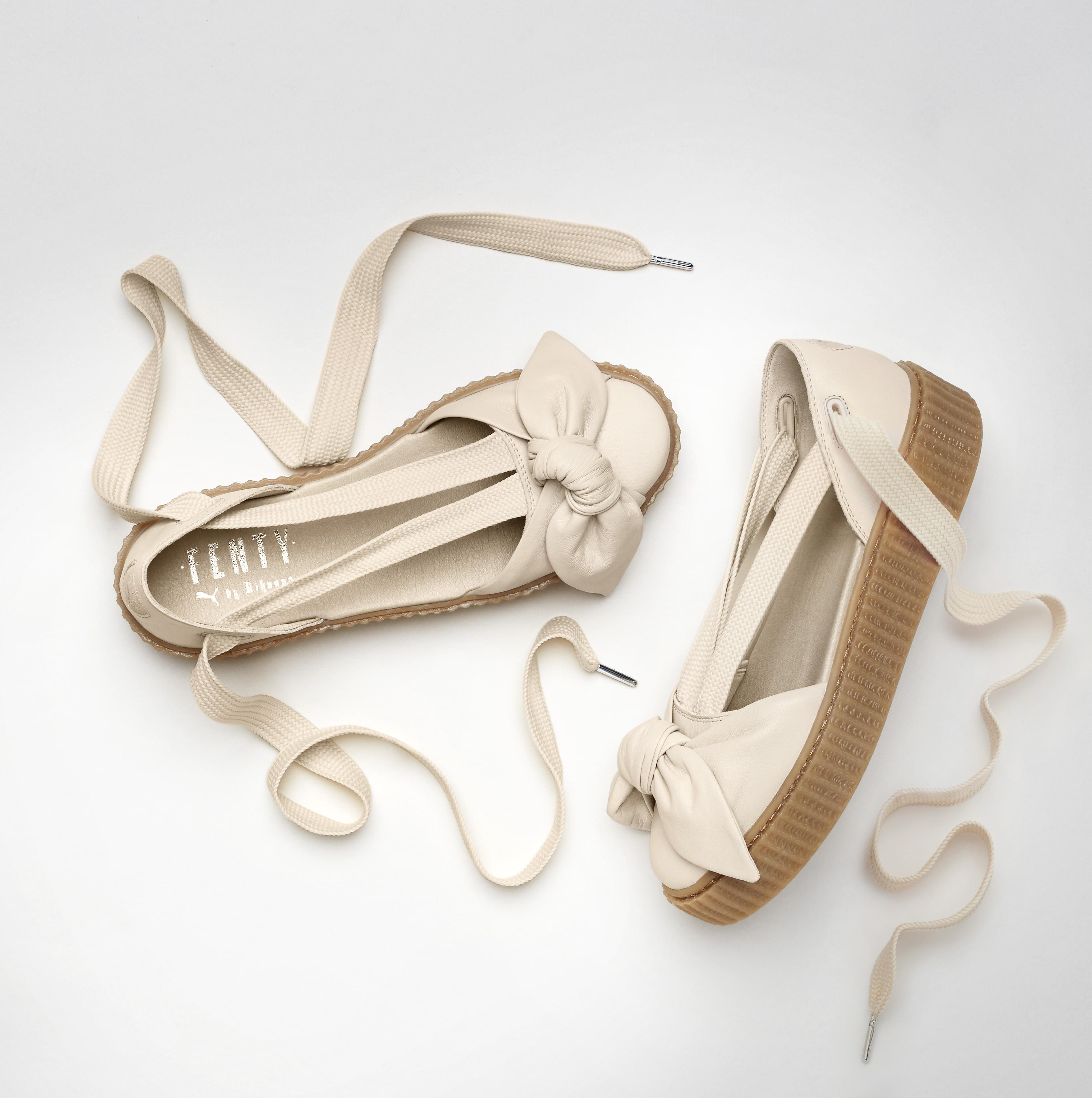 Rihanna Puma Creeper Bow Sandals