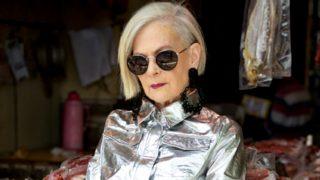 Lyn Slater tiene un estilo rompedor a los 63 años / Accidental Icon