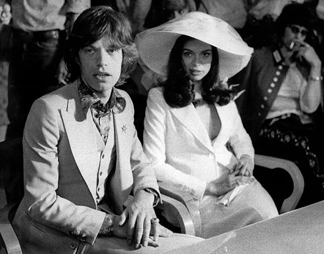 Bianca Jagger boda
