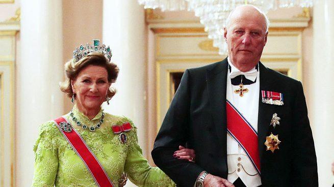 Harald y Sonia de Noruega ¡