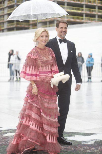Marie Chantal y el príncipe Pavlos
