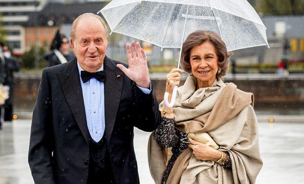 Don Juan Carlos y Doña Sofía